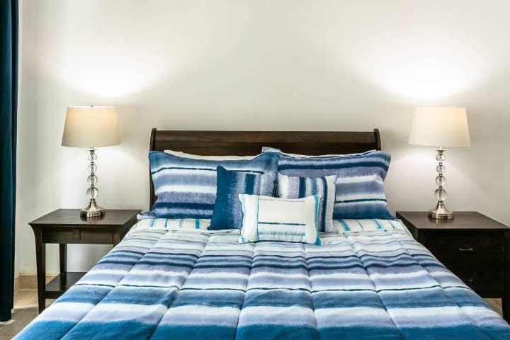 Queen size, memory foam mattress