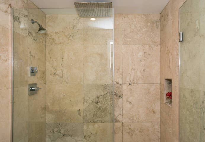 Rainfall walk-in large Shower