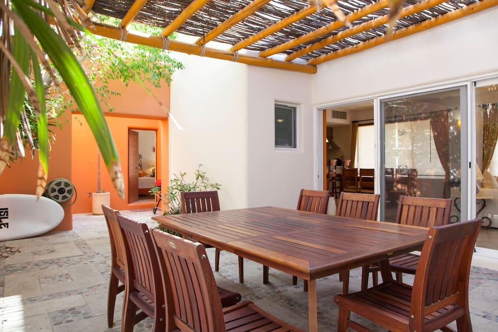Apartment Gorgeous Beach Front Villa   Puerta Cortes Resort  V5  photo 18527655