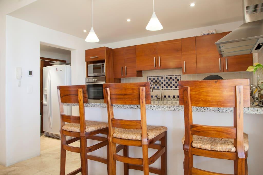 Apartment Gorgeous Beach Front Villa   Puerta Cortes Resort  V5  photo 18664036