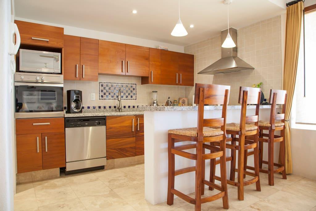Apartment Gorgeous Beach Front Villa   Puerta Cortes Resort  V5  photo 18664038