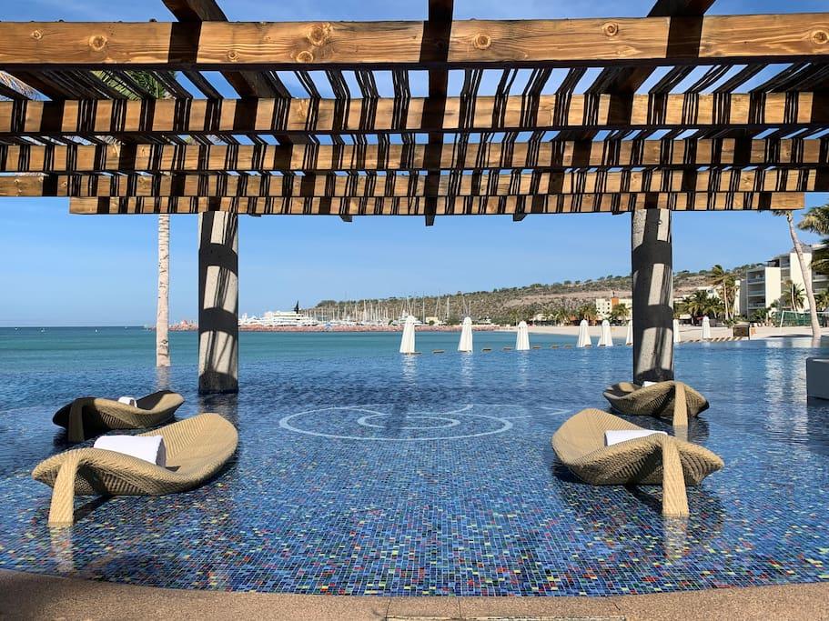 Apartment Gorgeous Beach Front Villa   Puerta Cortes Resort  V5  photo 18664060